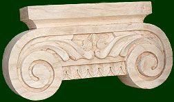 your choice of wood to create a custom look for your capitals and keys