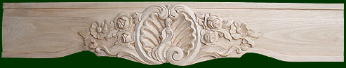 beautifully crafted wooden fireplace mantels by Michael Shea